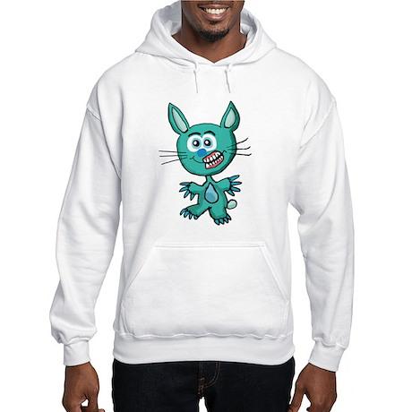Zombie Bunny1 Hooded Sweatshirt