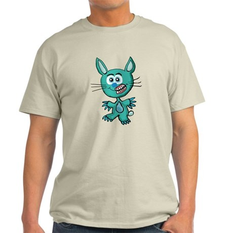 Zombie Bunny1 Light T-Shirt