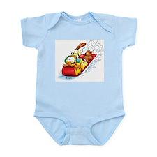 Sledding Fun! Infant Bodysuit