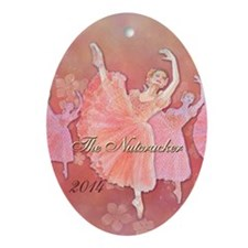 The Nutcracker 2014 Ornament (oval)