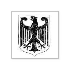 German Eagle Rectangle Sticker