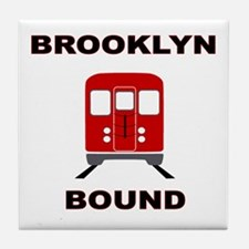 Brooklyn Bound Tile Coaster