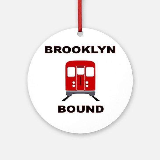 Brooklyn Bound Ornament (Round)