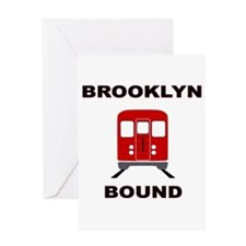 Brooklyn Bound Greeting Card