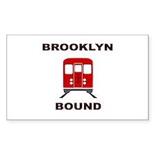 Brooklyn Bound Decal