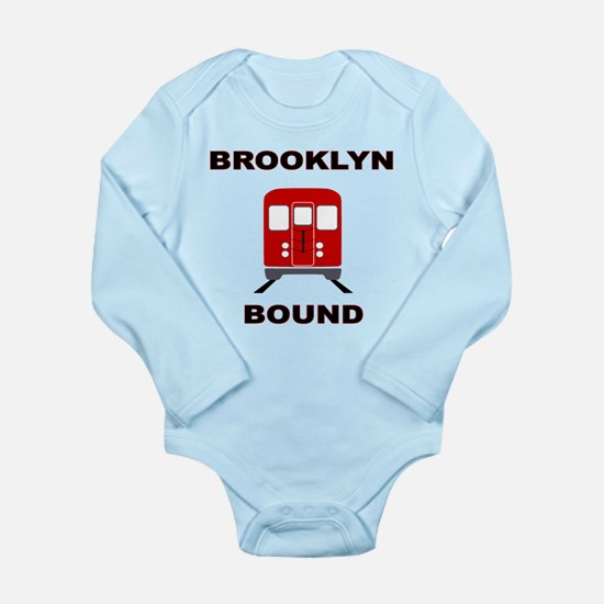 Brooklyn Bound Long Sleeve Infant Bodysuit