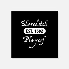 "Shoreditch Players Square Sticker 3"" x 3"""