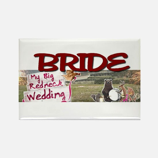 BRIDE.jpg Rectangle Magnet