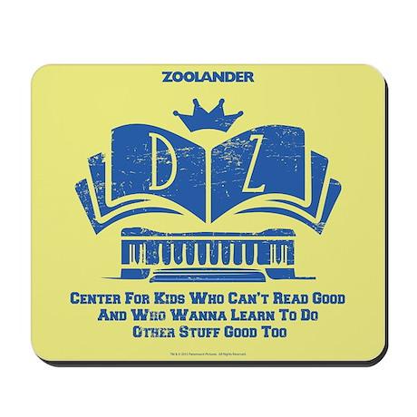 Derek Zoolander Center Mousepad