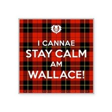 """Wallace Square Sticker 3"""" x 3"""""""