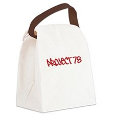 Project 78 Graffiti Tee Canvas Lunch Bag