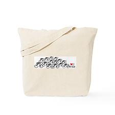 Peloton love2ride.jpg Tote Bag