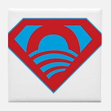 SUPEROBAMA Tile Coaster