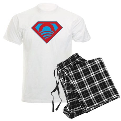 SUPEROBAMA Men's Light Pajamas
