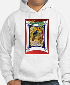 Sitting on the fence Hoodie
