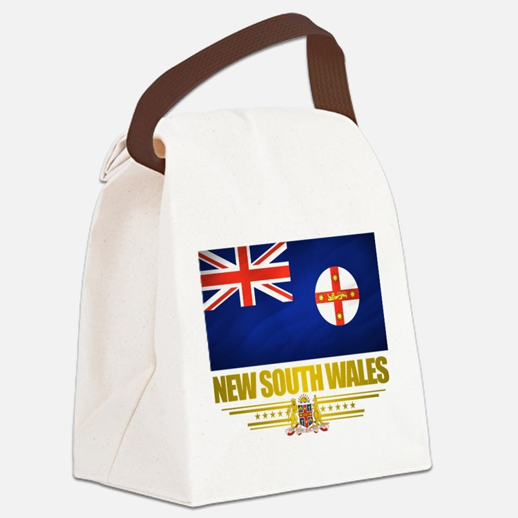 New South Wales (Flag 10) 2.png Canvas Lunch Bag