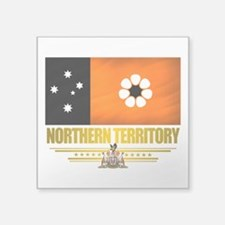 Northern Territory (Flag 10) 2.png Square Sticker