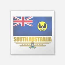 "South Australia (Flag 10) 2.png Square Sticker 3"""