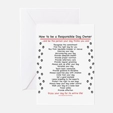 Responsible Dog Own Greeting Cards (Pk of 10)