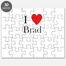 i love brad Puzzle