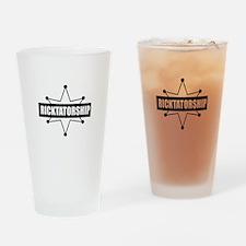 Ricktatorship Drinking Glass
