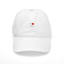 i love troy Baseball Cap