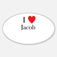 i love jacob Decal