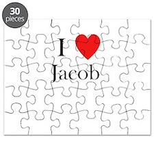 i love jacob Puzzle