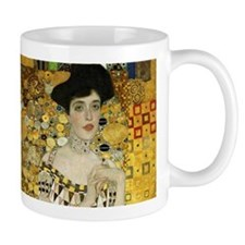 Adele Bloch Bauer by Klimt Small Mugs