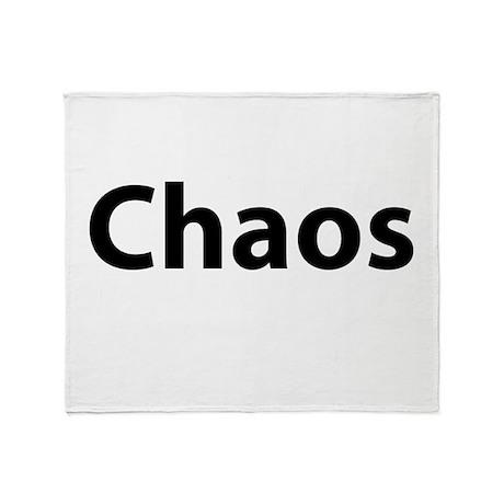 Chaos Throw Blanket