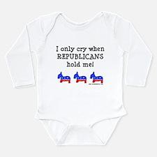 When Republicans Hold Me Body Suit