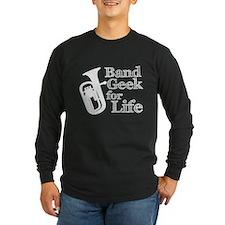Baritone Band Geek Long Sleeve T-Shirt