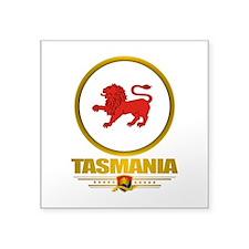 """Tasmania Emblem Square Sticker 3"""" x 3"""""""
