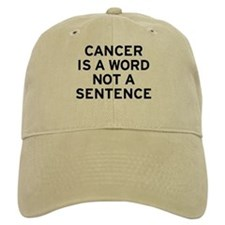 Cancer Word Hat