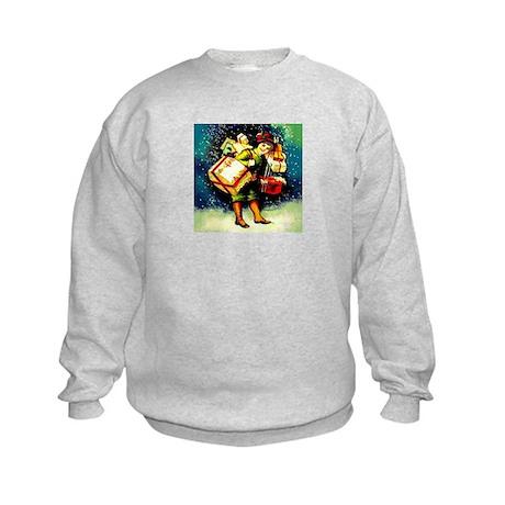 Holiday Shopping #1 - Kids Sweatshirt