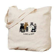 8 Bear Species Tote Bag