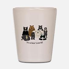 Bear's World Shot Glass