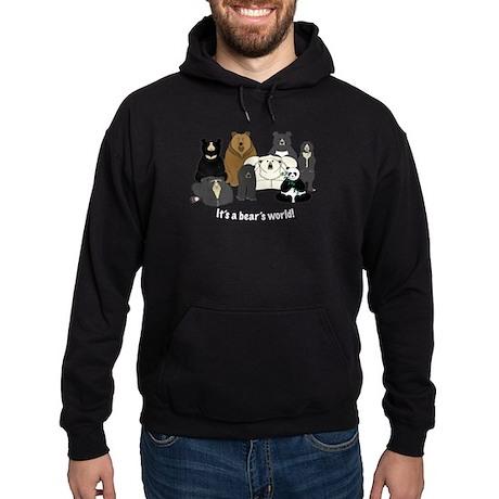 Bear's World Hoodie (dark)