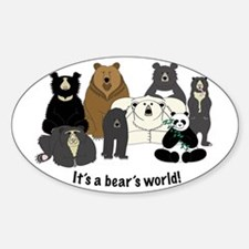 Bear's World Decal
