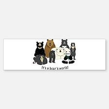 Bear's World Bumper Bumper Sticker