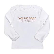 Volunteer definition Long Sleeve Infant T-Shirt