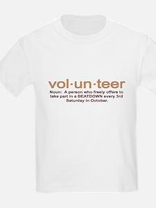 Volunteer definition T-Shirt
