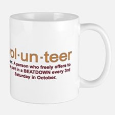 Volunteer definition Mug