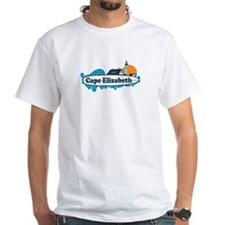 Cape Elizabeth ME - Surf Design. Shirt