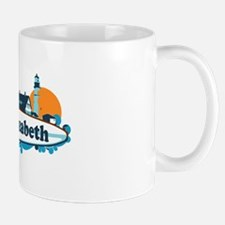 Cape Elizabeth ME - Surf Design. Mug