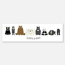 Bear Group Bumper Bumper Sticker