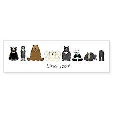 Bear Group Bumper Sticker