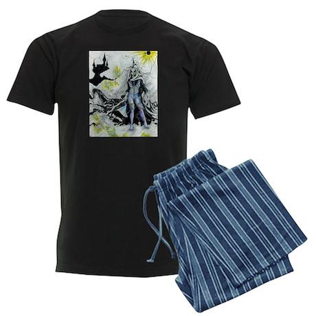Elven Wizard Men's Dark Pajamas