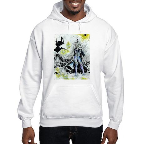 Elven Wizard Hooded Sweatshirt