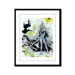 Elven Wizard Framed Panel Print